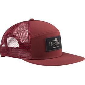 Haglöfs Trucker Cap maroon red